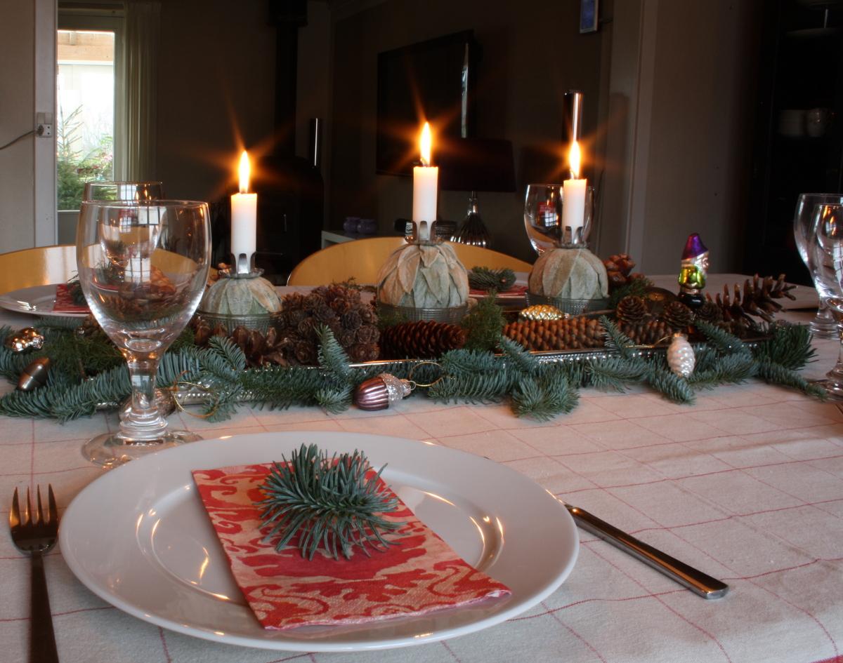 Julebordet tæt på