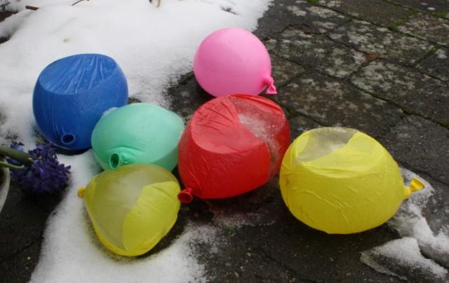 Balloner med vand