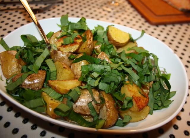 Kartofler med ramsløg