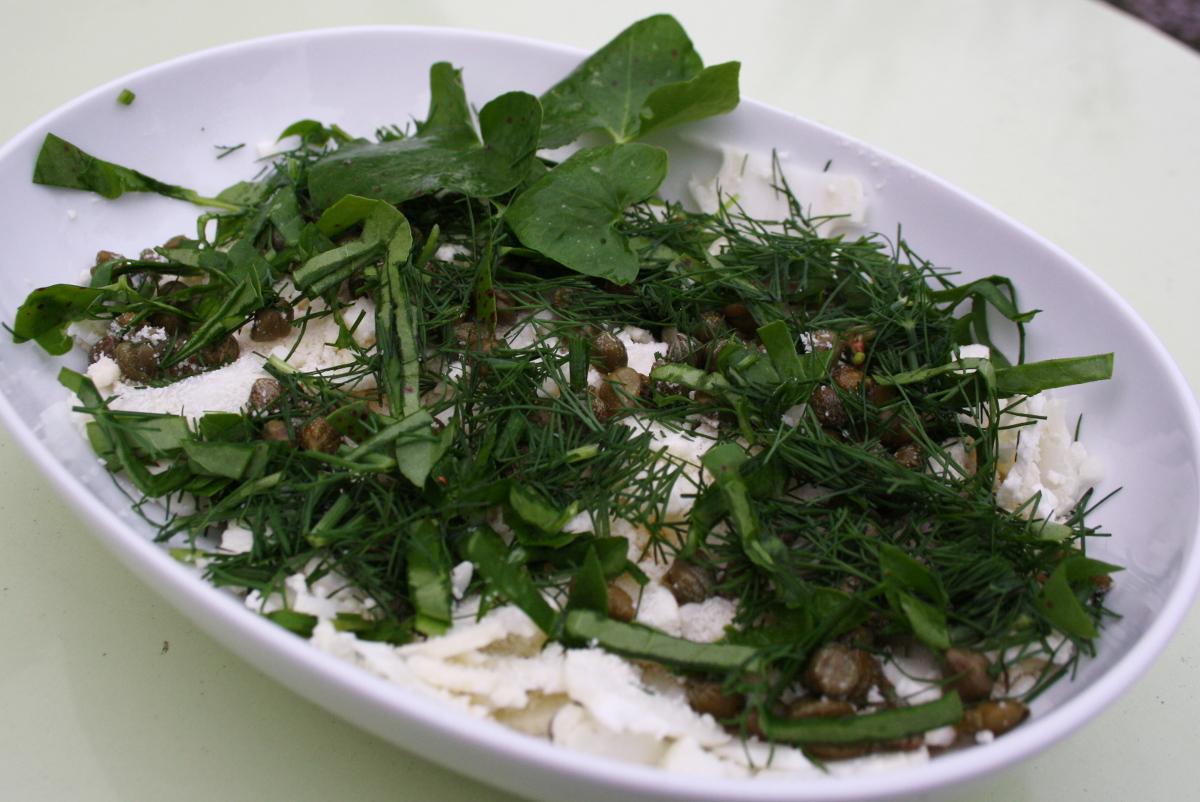 Høstsalat med fransk syre