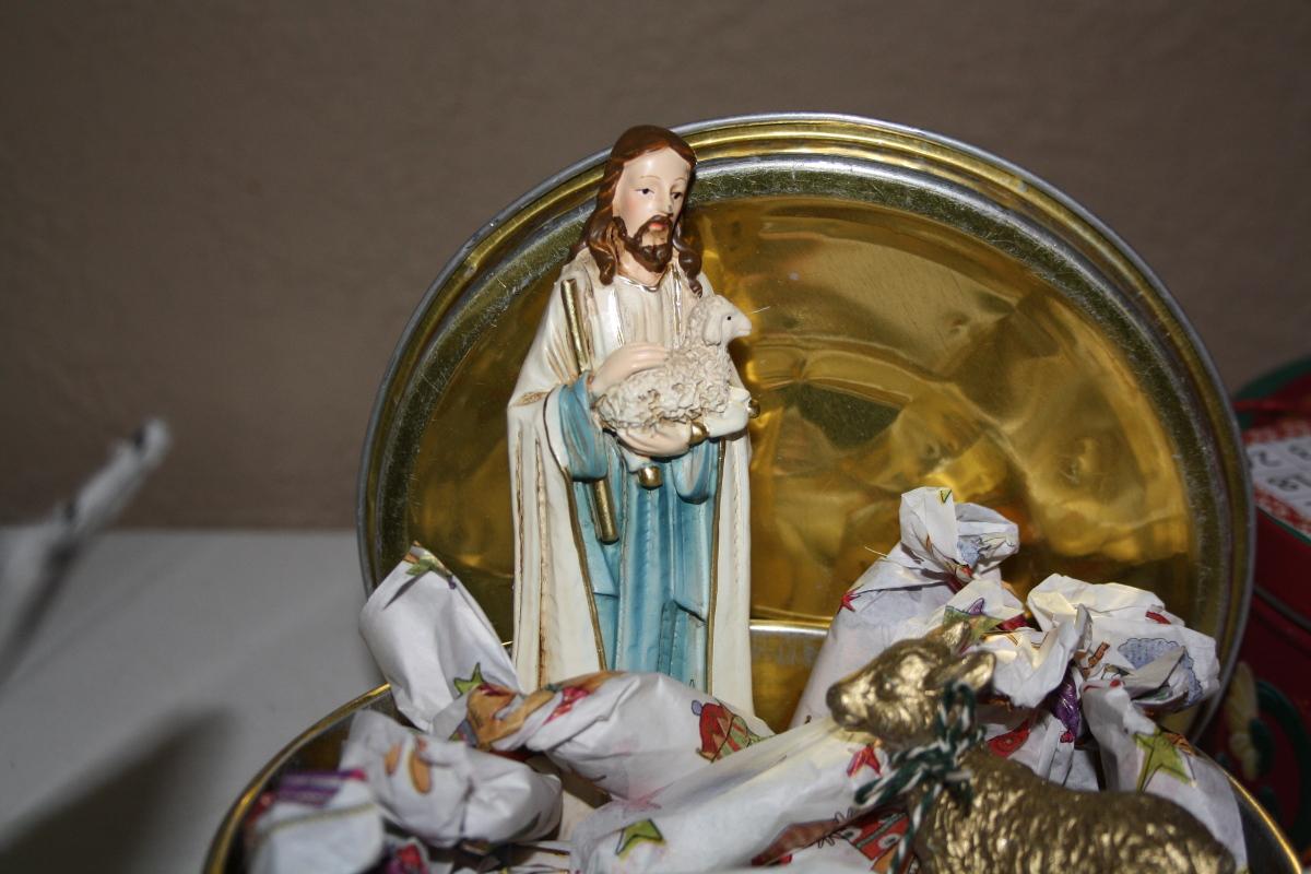 Jesus med lam
