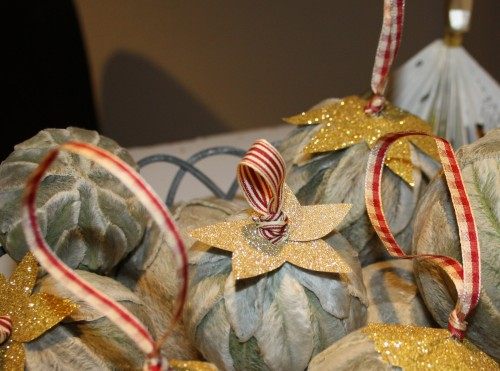 Lammeørekugler til juletræet