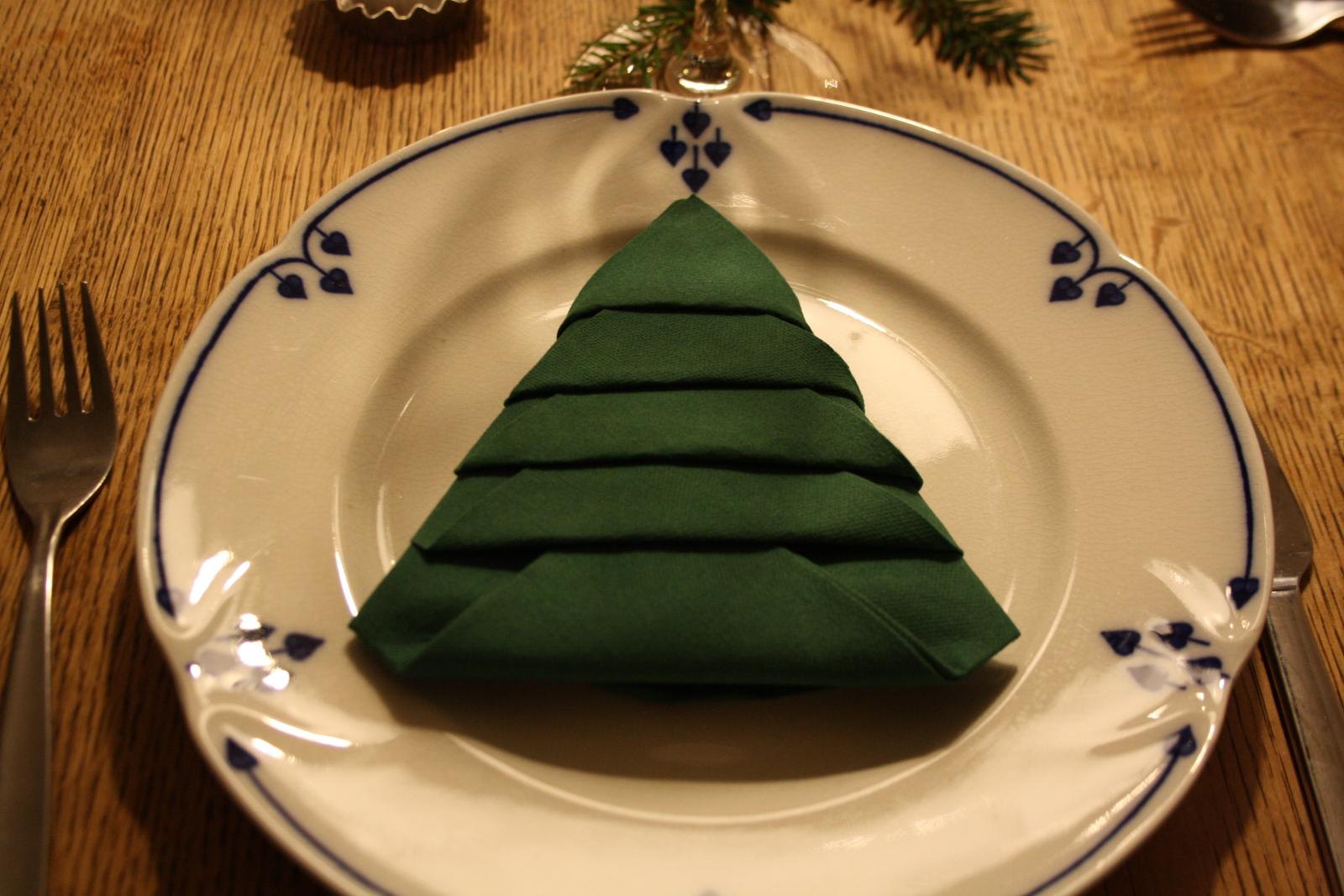 Juletræsserviet