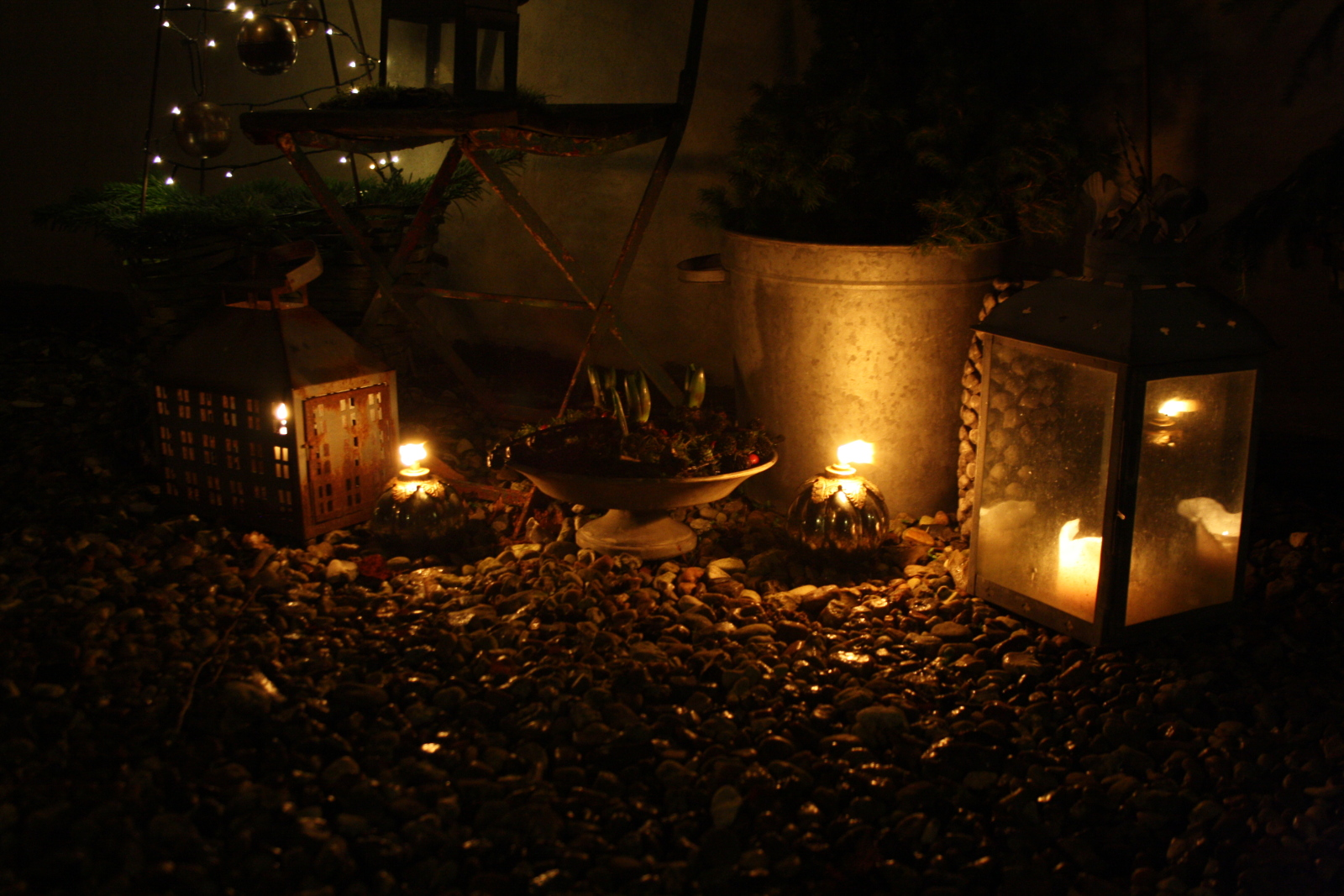 Lanterner og olielamper