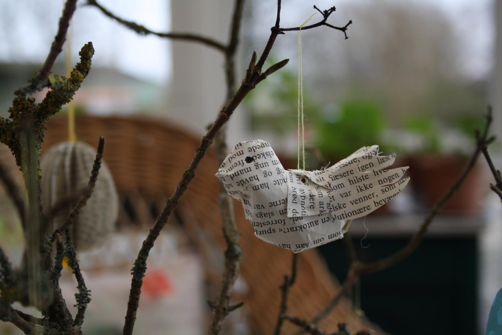 Fugl af bogsider